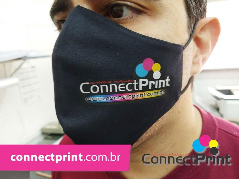 mascara personalizada para empresas grafica em campinas